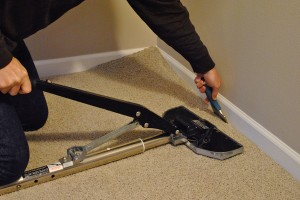TCB Carpets' Installer with Power Stetcher